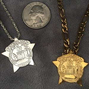Chicago Police Sterling Silver Pendant